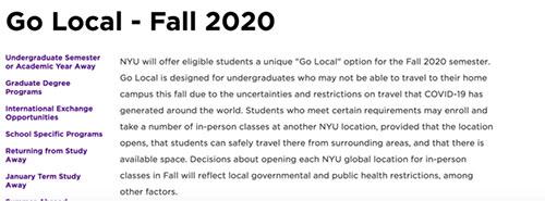 盘点:中国留学生可暂时在国内就读的美国大学们