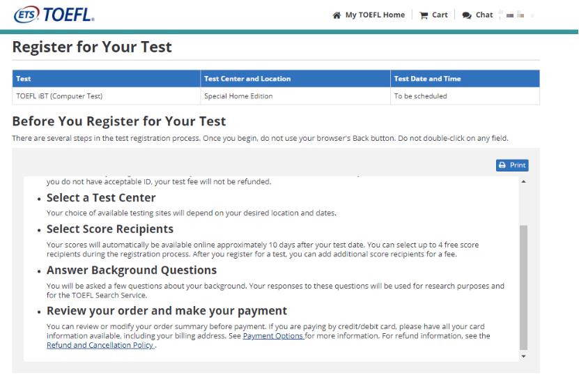 【经验贴】托福在家考从注册报名到考试完成全流程
